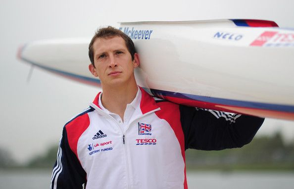 Ed McKeever - Team GB Canoe Sprint Training Session