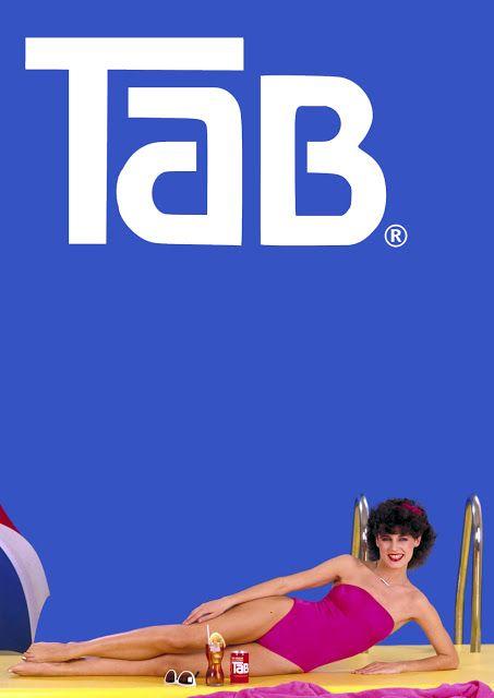 Publicidad Tab (Coca cola) Eva Nasarre - años 80.