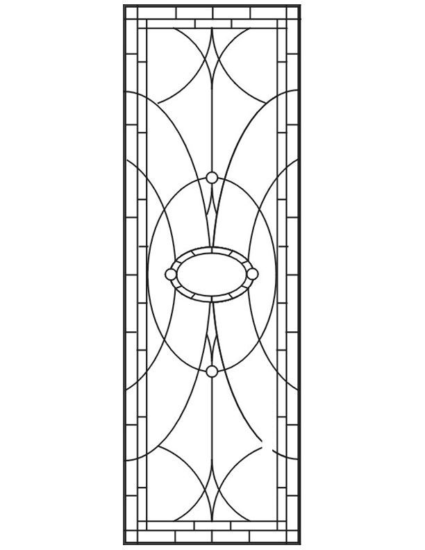 ★ Stained Glass Patterns for FREE ★ glass pattern 652 ★