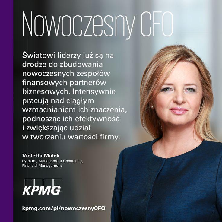Nowoczesny CFO →  | Światowi liderzy już są na drodze do zbudowania nowoczesnych zespołów finansowych partnerów biznesowych.