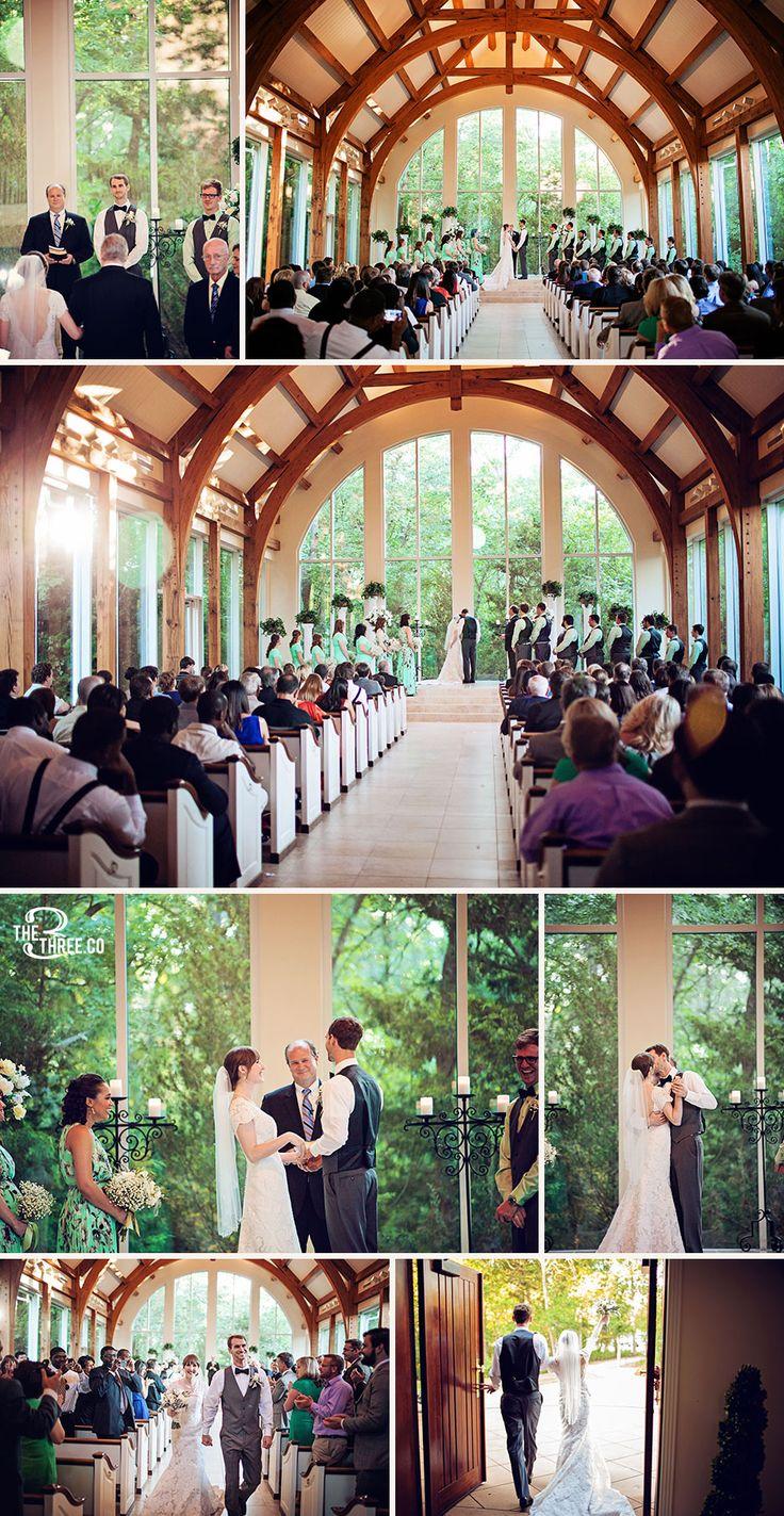 Chapel ceremony at the Ashton Gardens