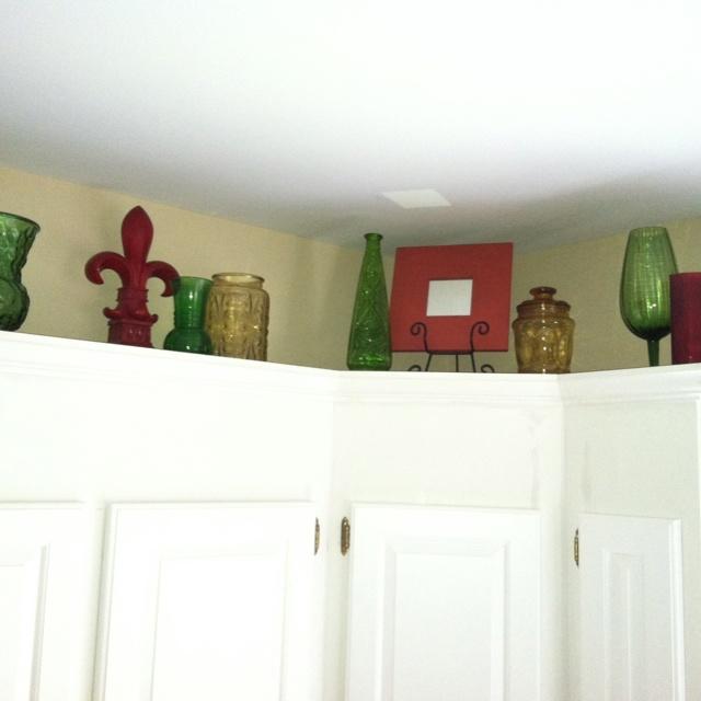 Kitchen Cupboard Decoration: Best 25+ Above Kitchen Cabinets Ideas On Pinterest