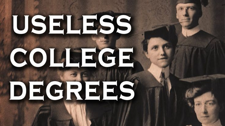 Top 10 Useless College Degrees and Classes Some may argue that there's no such thing as a useless degree -- any education is a good education including many ...