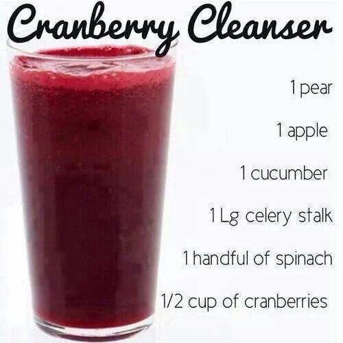 Cranberry juice blend