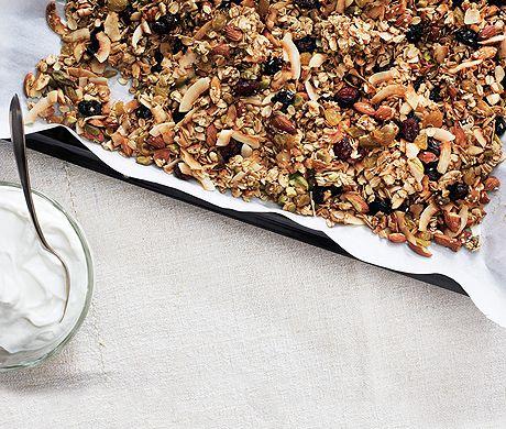 A Better Granola Recipe  at Epicurious.com
