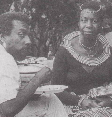 Kwame Ture & Nina Simone.