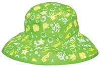 Tidal Green Reversible sunhat, $29.99 - two sunhats in one!