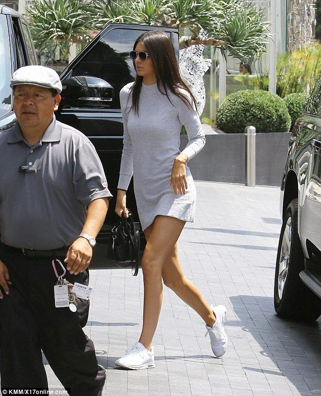 Kendall Jenner headed to a meeting in West Hollywood on Sunday after the death of her godfather Frank Gifford