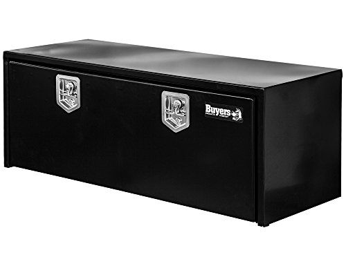 Protect and also protect your equipment for the long haul with Buyers Products easy-to-access underbed vehicle boxes. Each expert quality vehicle box is crafted from strong 14 Ga steel, with a recessed 12 Ga decline door. Boxes include a securing, stainless steel compression latch that assists shield against burglary. The truck box is available in a black powder-coated surface and constructed for long life with airplane quality cable television lanyards, stainless-steel constant joints, and…