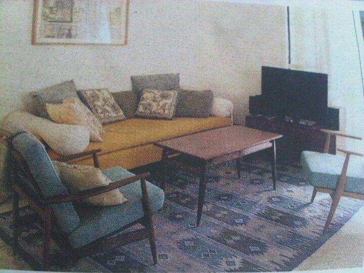 Spaans huis met Deense meubels