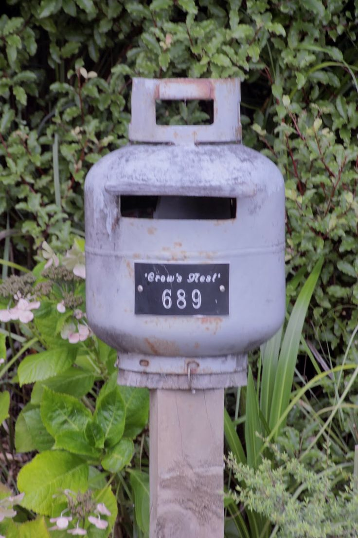 Have an old LPG container lying around that you don't know what to do with? Turn it into a mailbox! Some more of our adventures in Great Barrier Island, including getting attacked by some killer kingfish.