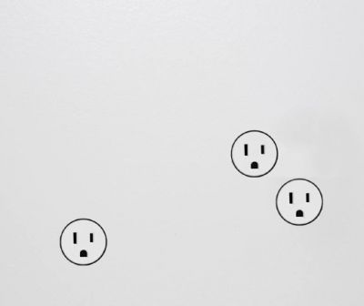22 outlet - a minimalist outlet that blends into your wall rather than traditional outlet cover plates } Designer Omer Arbel   Available from Bocci - https://www.bocci.ca/store/categories/22-Series
