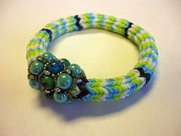 Pulseras de gomitas.  Friendship bracelets B