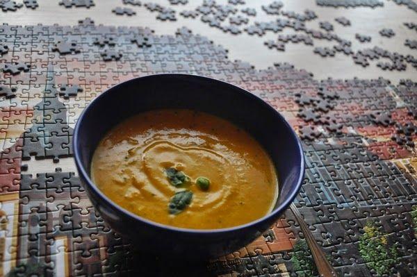 Między Niebem, a Kuchnią...: Najlepsza zupa dyniowa jaką w życiu jadłam