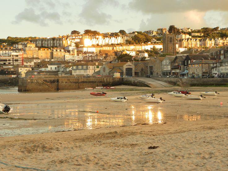 #StIves, Cornwall at sunset by Ian Badger