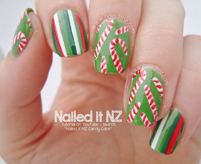 Nailed It NZ: Christmas #nail #nails #nailart