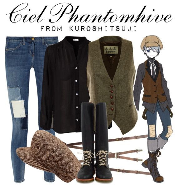 """[Kuroshitsuji] Ciel Phantomhive - Newsboy Outfit"" by animangacouture on Polyvore  www.otakucouture.com"