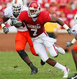 DeMarco Murray when he played at OU.
