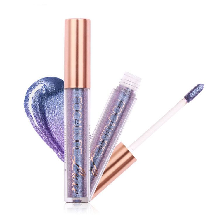 <b>FOCALLURE</b> Glitter Color Lip Gloss <b>Matte</b> Diamond Sand Sexy ...