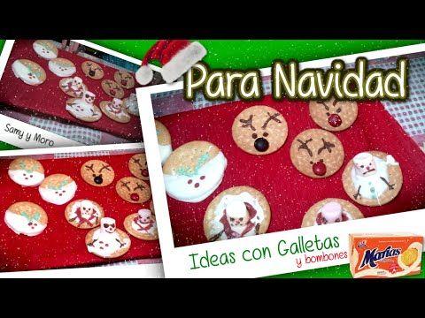 Ideas y postres para Navidad Video Recetas