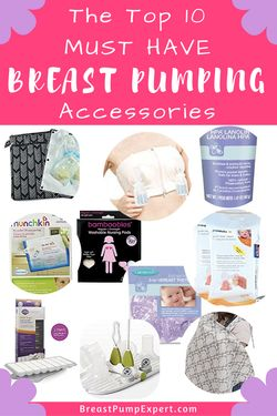 The best breast pumping accessories. Must haves for pumping moms so you can use our breast pump comfortably and maintain your milk supply. These items also help you store breast milk.
