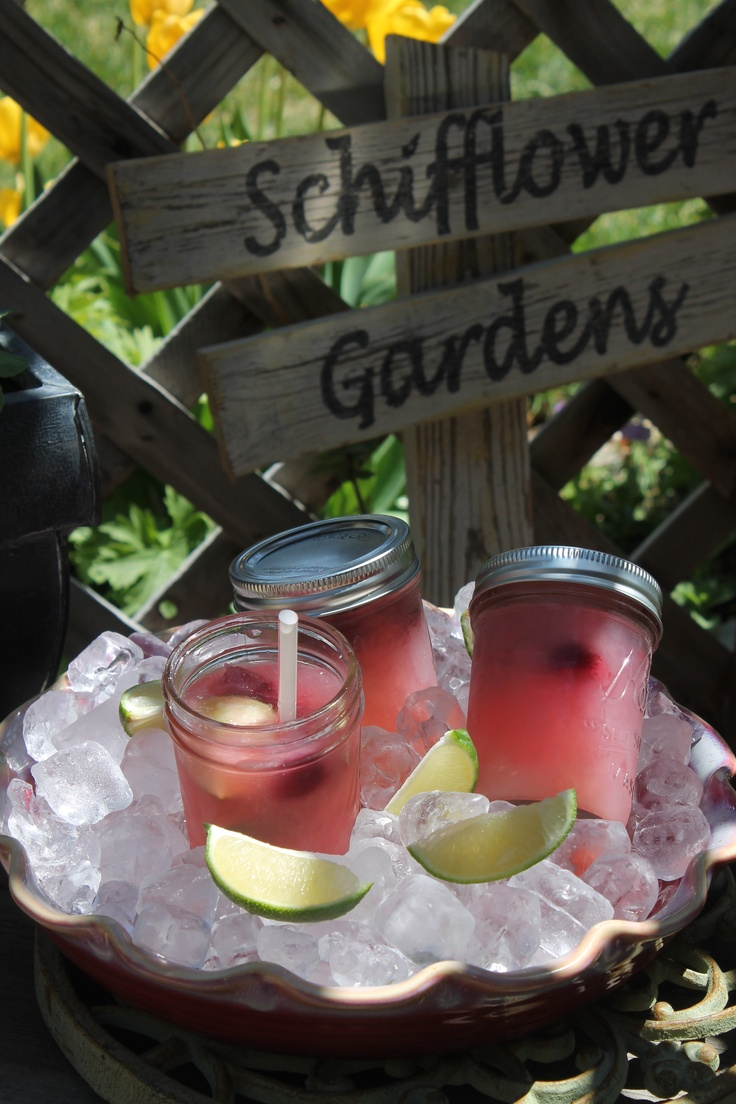 Summertime in a mason jar:  Jargaritas & Jello pudding jars!