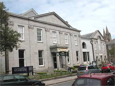 Royal Cornwall Museum, Truro, Cornwall, UK