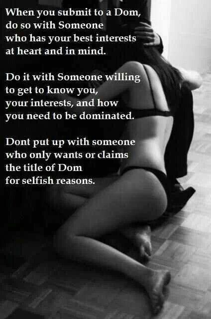 What do you do to punish your BDSM submissive?