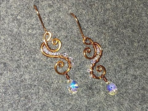 Wire Jewelry Lessons - DIY - handmade jewelry tutorials - How to make ea...