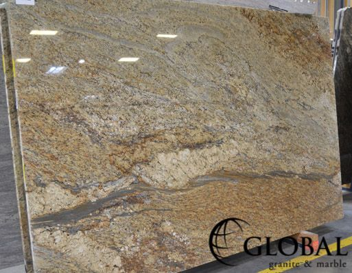 Yellow Granite Stone : Best images about granite slabs on pinterest