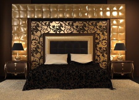 Luxury Master Bedroom Design With Inspiring Style And Design: Luxury Bed  Designs With Table Lamps Part 41