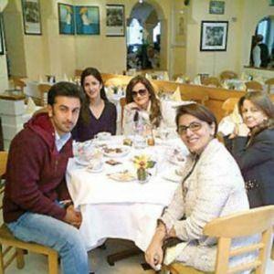 Katrina with Ranbir Kapoor