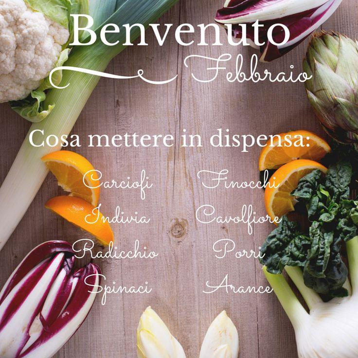 #Febbraio: ecco cosa non può mancare nel tuo carrello della #spesa! #Giallozafferano #stagionalità #stagione #season #frutta #verdura