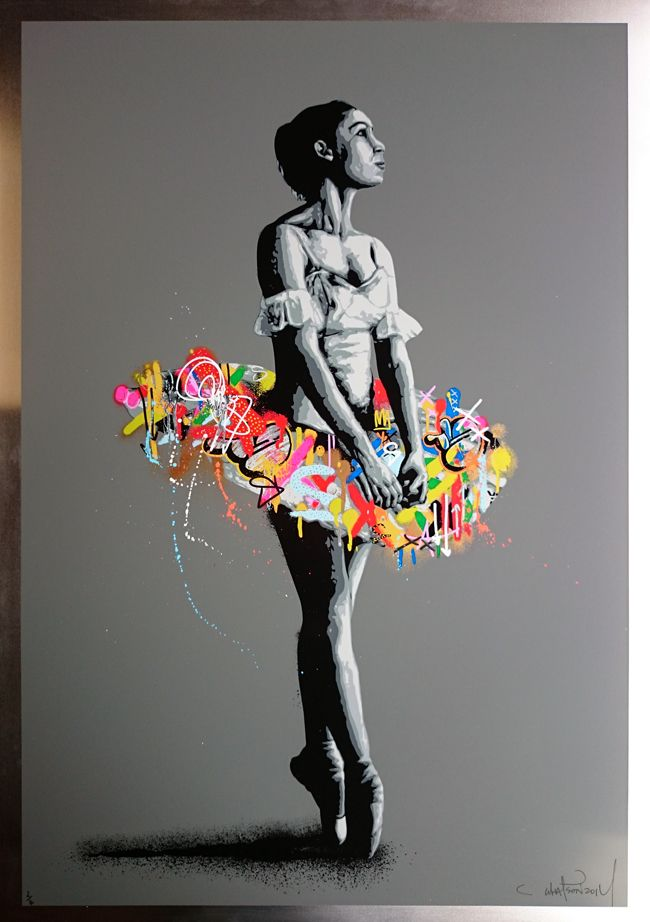 Martin Whatson Prints for sale - En pointe (Grey aluminium edition) More  info: