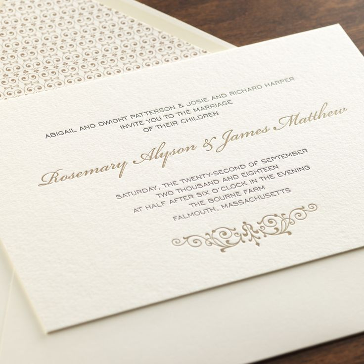 212 best invitations that inspire me images on pinterest | digital, Wedding invitations