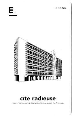 Cité radieuse. Le Corbusier - Marseille . Famille Habitat Collectif. ( 6,5×10,5×2 cm), Iconic Architecture Card Game - Crédit: cinq points.