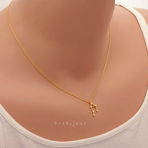Libra Zodiac Sign Astrology Necklace / constellation jewelry, astrology necklace, star sign, september birthday, october birthday / N245 de CreBijoux en Etsy https://www.etsy.com/es/listing/254781293/libra-zodiac-sign-astrology-necklace