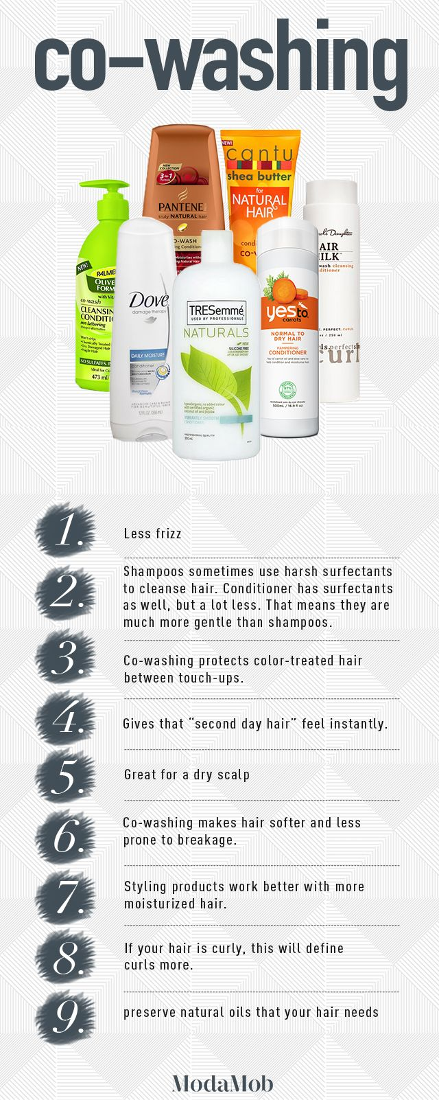 Co-wash or conditioner wash is something to consider incorporating into a hair regime #beautytips #hairtips