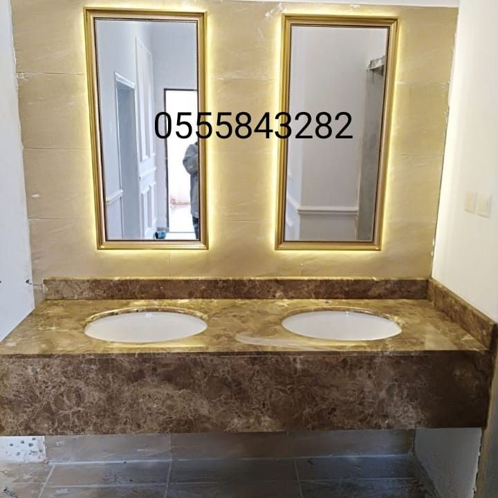 صور مغاسل رخام حمامات Bathroom Mirror Lighted Bathroom Mirror Framed Bathroom Mirror