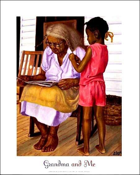 Grandma Mason and Grandma Mason, strong Black women!