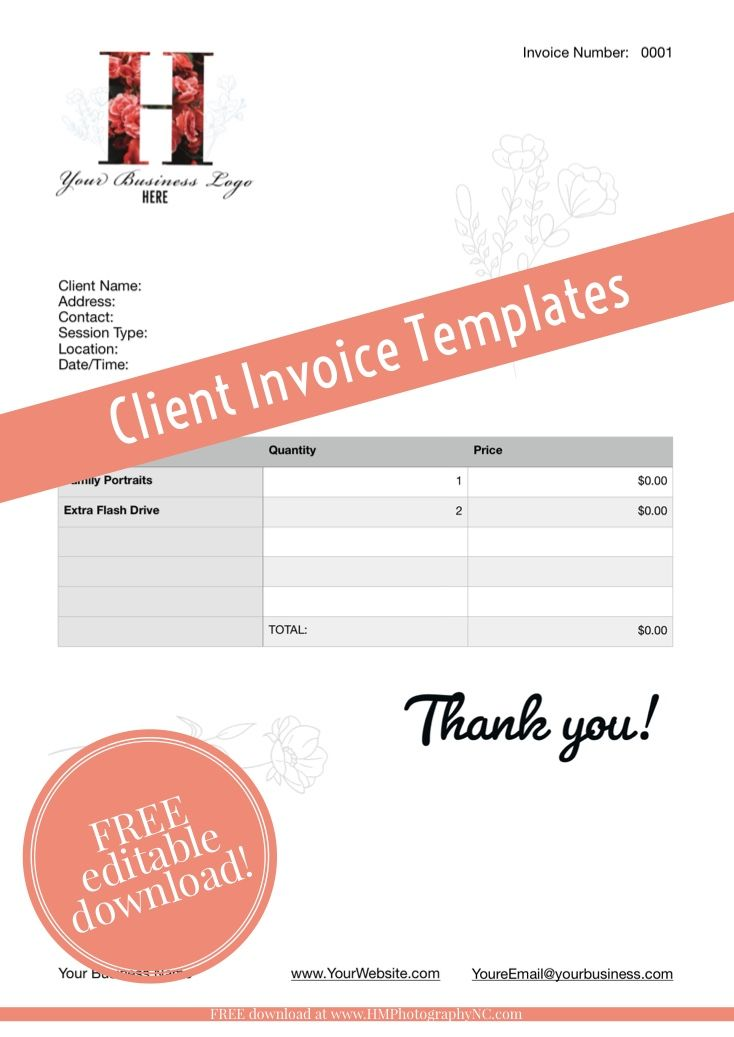 Free Download Client Invoice Sheet Client Receipt Templates Templates Business Template Receipt Template