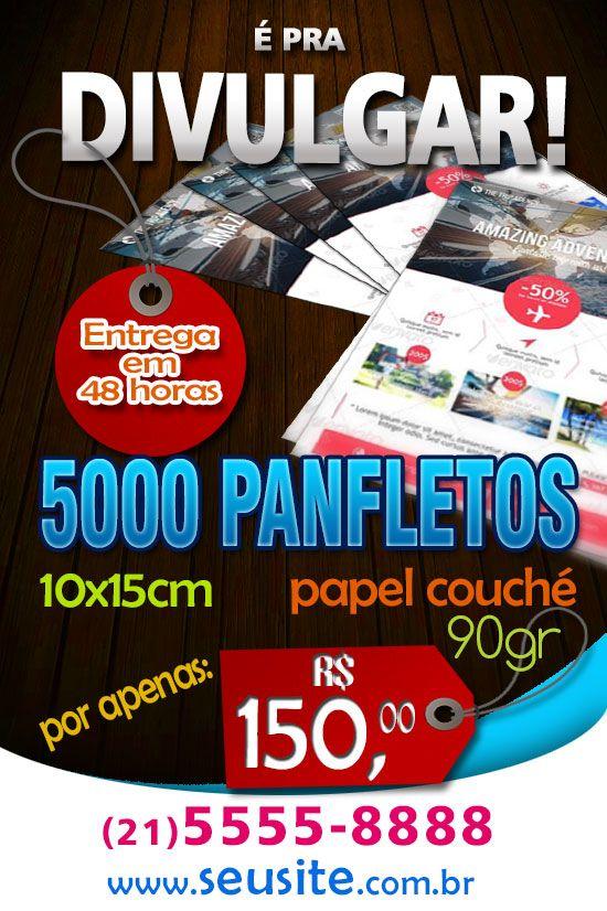 Panfletos -  Divulgação