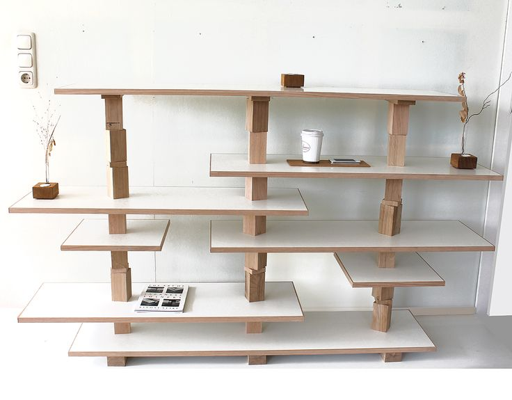Shelves And Storage Furniture Shouldnu0027t Necessarily Be Invisible And Merge  With The Surroundings. Thatu0027s Why Andreas Janson Created His Growing Jo  Furnitur