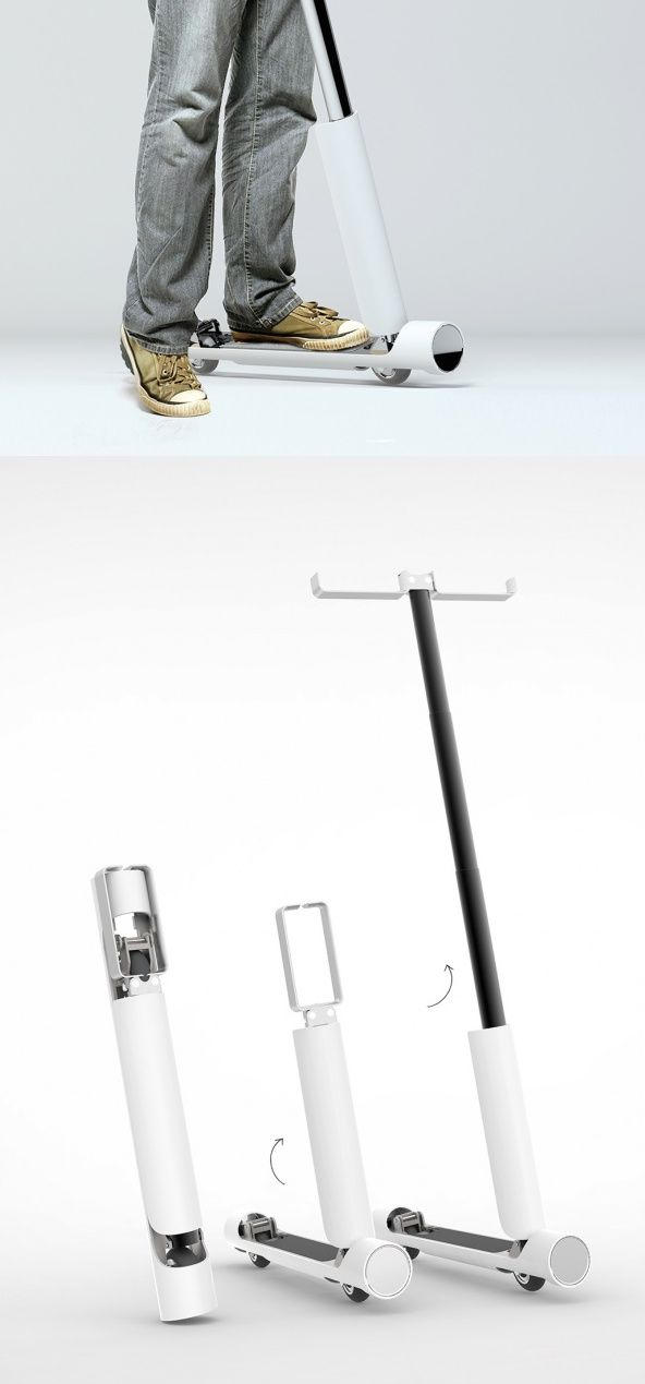 The No. 5065 #Scooter folds down into a compact and portable tube, making it a…