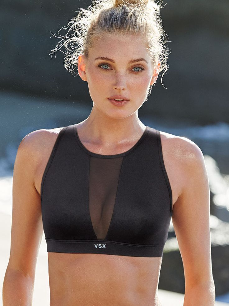 High-neck Mesh Sport Bra - Victoria's Secret Sport - Victoria's Secret
