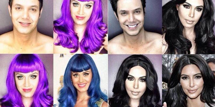 10+Incredible+Celebrity+Makeup+Transformations -Cosmopolitan.com