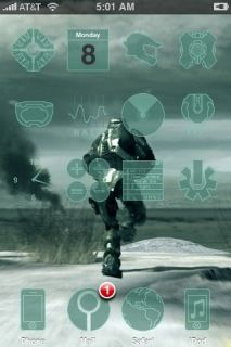 Download Another Halo 3 Apple IPhone Theme Apple Theme | Mobile Toones