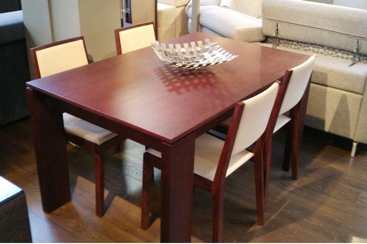 Komfort spożywania jest bardzo ważny. Stół NEGREDO i 4 krzesła doskonale wyglądają w jadalni. Do 21.06 kupisz je 50% taniej! www.mega-meble.pl/promocja-260