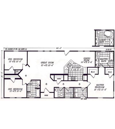 Modular ranch floor plans fuller modular homes for Modular ranch plans