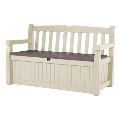 Keter All Weather Outdoor 70 Gallon Storage Bench & Reviews | Wayfair